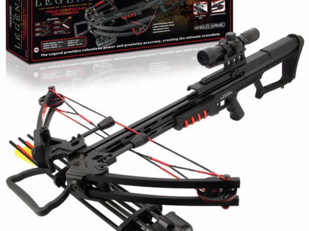 Anglo Arms Legend Mk-400 175lb Draw Quad Limb Compound Crossbow Set  in  Leicester