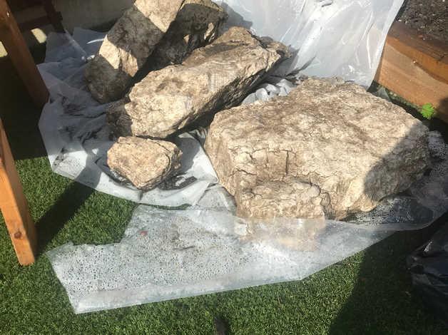Limestone Rockery Stones in Bolton
