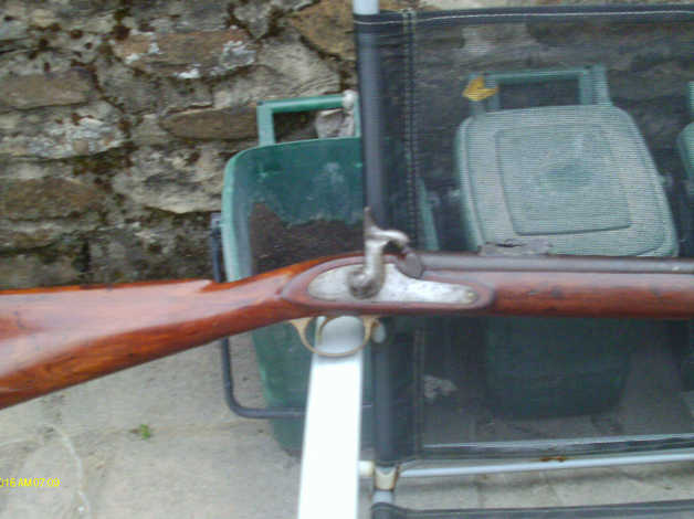 Sold Pete ** - Antique Enfield P58 3 Band Volunteer Musket