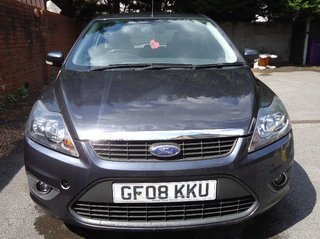 Ford Focus 2008 08 Grey Hatchback Manual Petrol 97 955 Miles In Liverpool