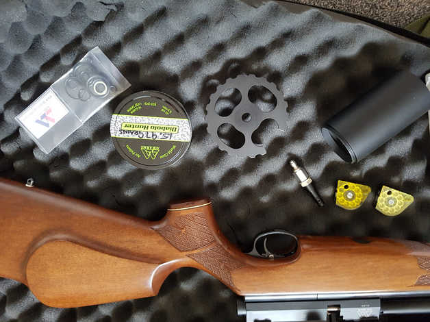 Air Arms S510 SL CARBINE Regulated Airmax 30 SF in Reading