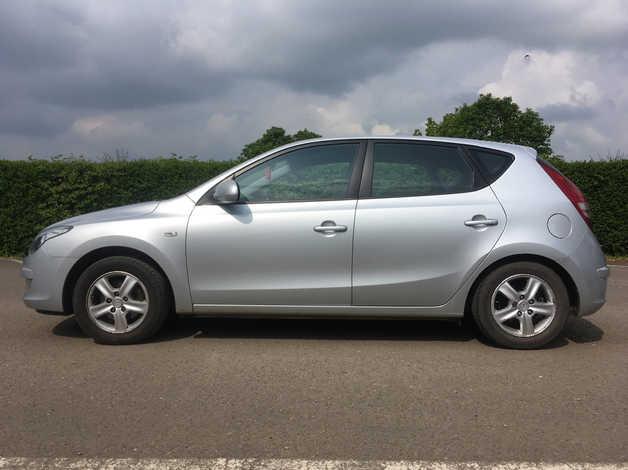 Hyundai I30 2009 09 Silver Hatchback Manual Petrol 68 300 Miles In Warwick