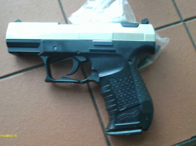 *** SOLD ROGER *** Walther CP99 Semi Auto Air Pistol FAULTY, Co2  177  PELLET MODEL in Neath
