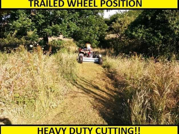 Atv Flail Mower  Towable Flail Mower  Heavy Duty Atv Flail