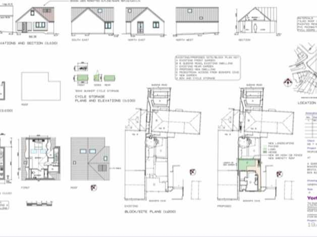 120 sq.m plot with full planning for a detached 2 bed in popular area of bishopsworth, bristol in bristol, bristol freeads