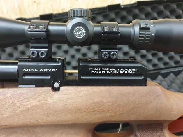 Kral Puncher jumbo  177 air rifle in Ayr