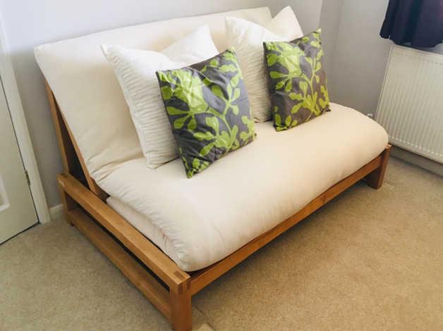 promo code 05608 90db3 THE FUTON COMPANY Linear double sofa bed in Southampton
