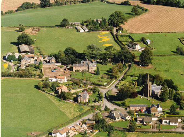 design and build your own home by purchasing a plot privately in a village in herefordshire in herefordshire, herefordshire freeads