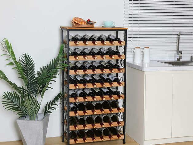 Wine Storage Racks 48 Bottles, 8 Tier X-cosrack in Gateshead