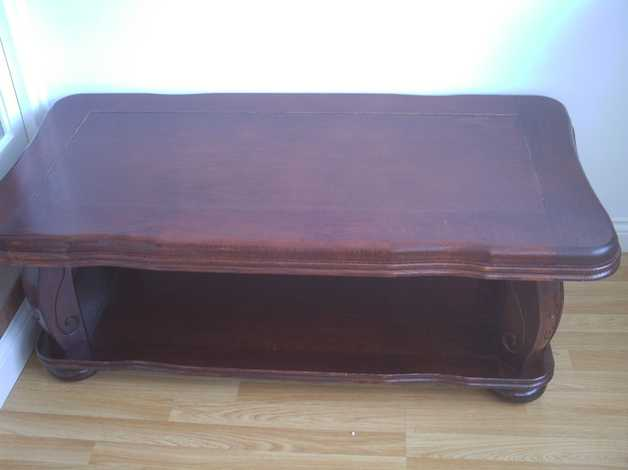 Solid Wood Coffee Table In Stamford