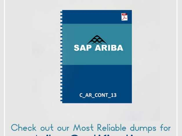 Ariba Certification Dumps Are Available At Affordable Prices