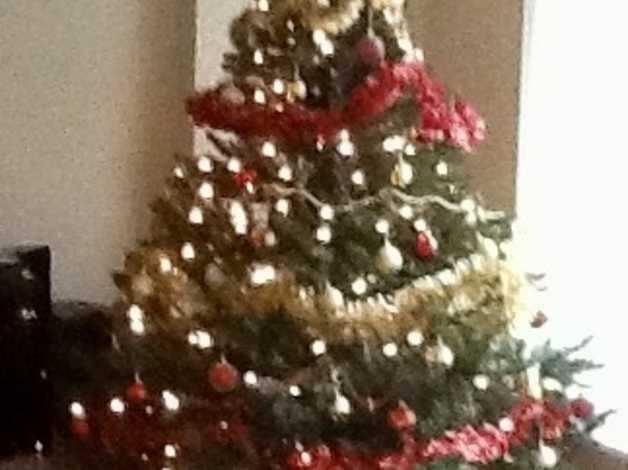 Artificial Christmas tree. approximately 6 feet tall in Bromley