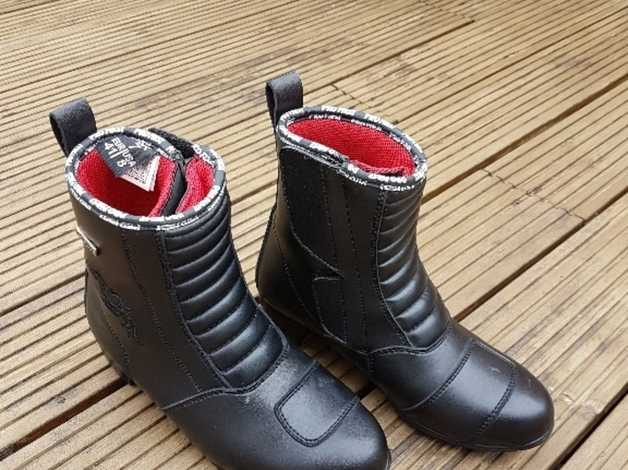 Ladies Ankle Length Motorcycle Boots In Gosport Hampshire Freeads