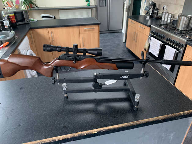 Walther rotax rm8  177 pcp multi shot in Leicester