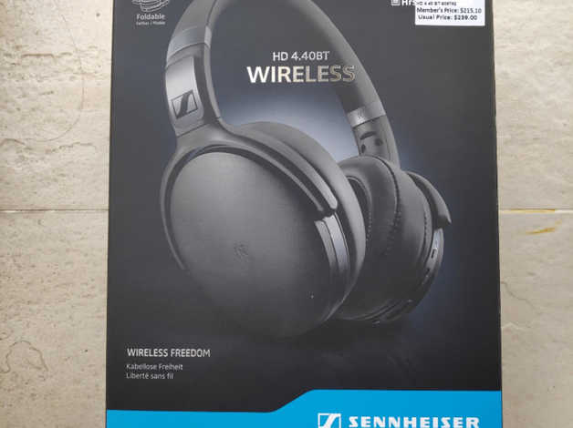online store 51921 9bac2 Sennheiser HD 4.40 BT, Over-Ear Wireless Bluetooth Headphones - Black . in  Cheltenham