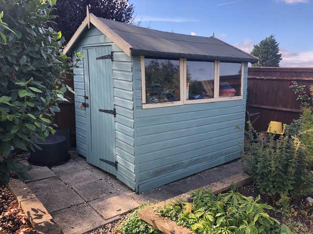 Garden Shed in Swindon