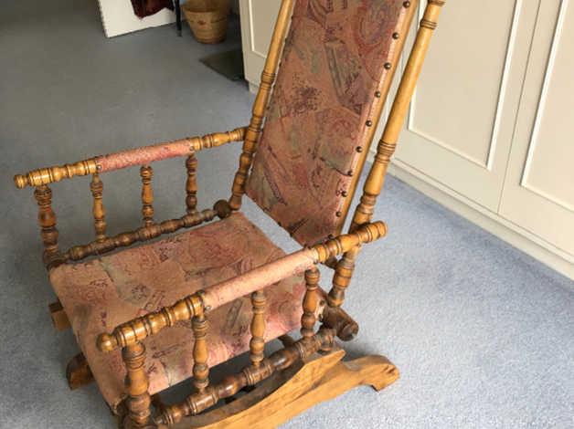 Fabulous Antique Rocking Chair In Newport Beatyapartments Chair Design Images Beatyapartmentscom