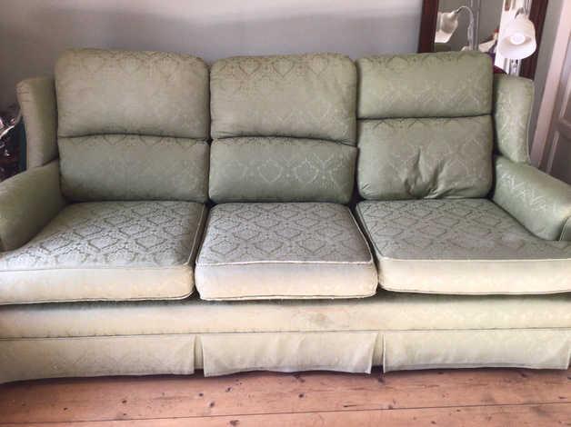 Three-seater sofa in green in Dublin