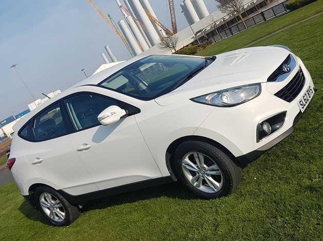 Hyundai Ix35, 2012 (62) White Estate, Manual Petrol, 69,000 miles in Hull