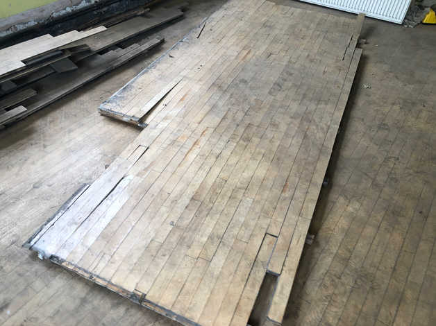 Wood flooring or dry timber for log burner in York