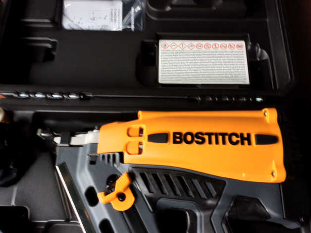 Brand new Bostich First fix nail gun with nail pack in Dalkeith