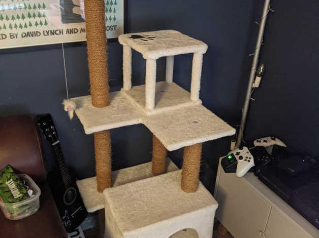 FREE Cat Tree Scratching Post in Llantwit Major